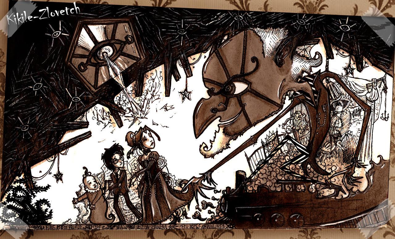 A Series Of Unfortunate Events Wallpaper: Unfortunate Events By K-Zlovetch On DeviantArt