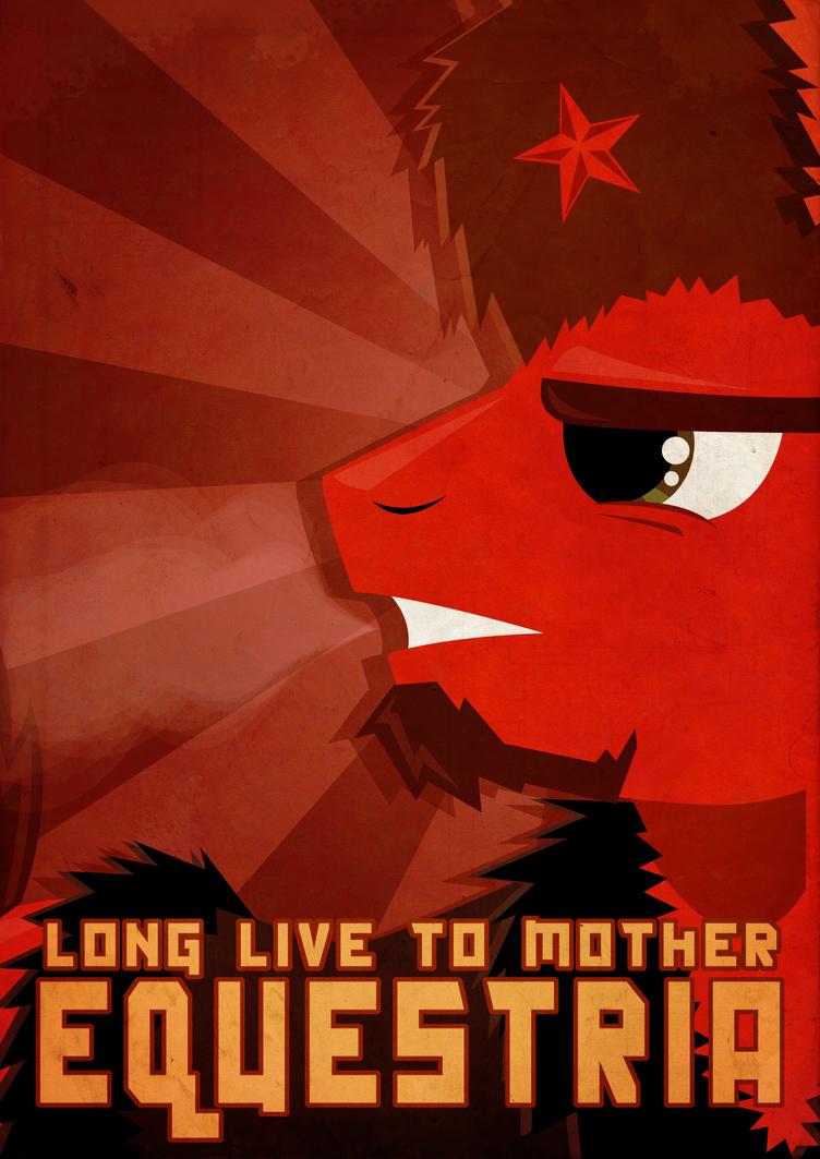 Mother Equestria by K-Zlovetch