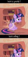 You're...... what ? by K-Zlovetch