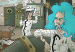Into the Silver Smock House by K-Zlovetch