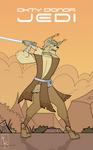 Okty D'Onor - Jedi by K-Zlovetch