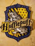 {GIFT} Hufflepuff papercraft