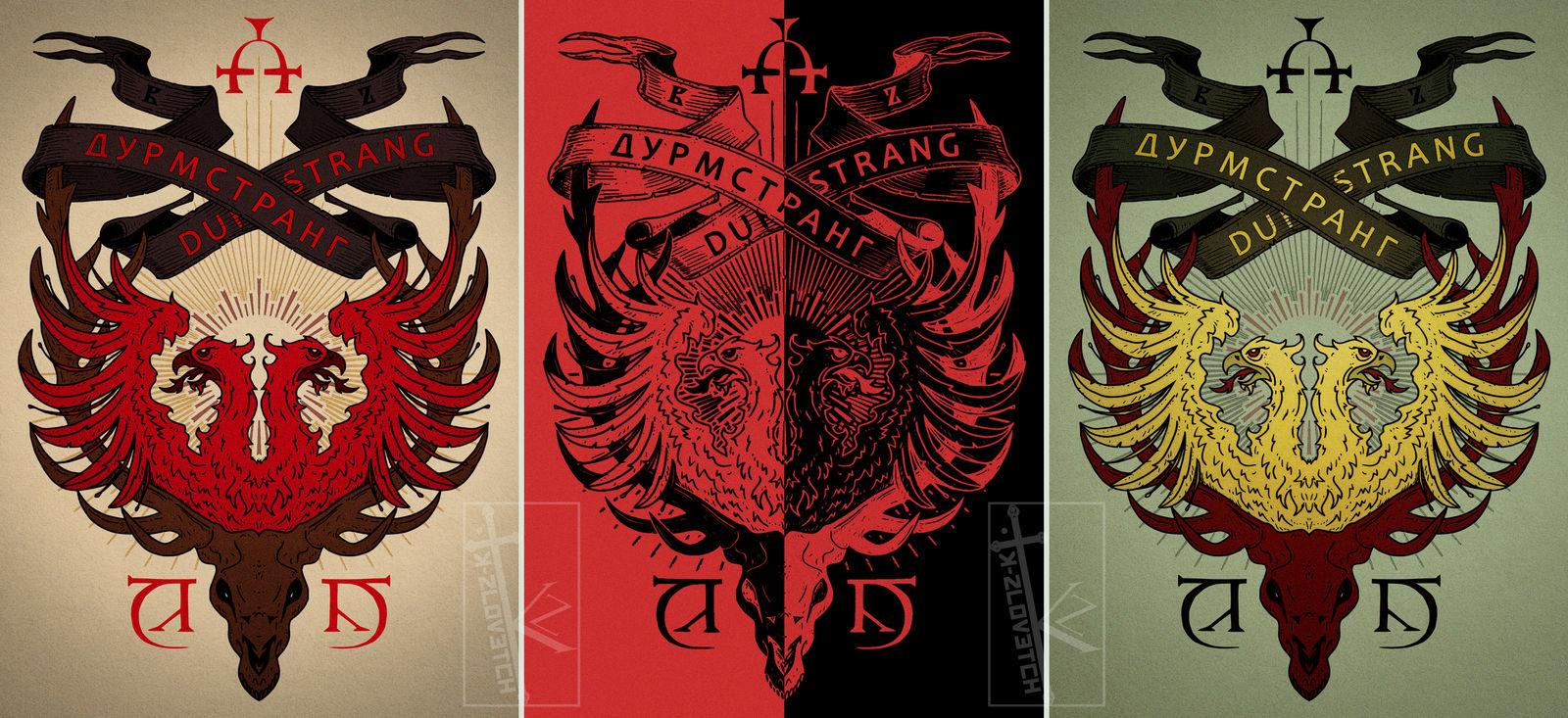 M1ttr7 Of8of M Wizarding schools around the world: https www deviantart com k zlovetch art durmstrang institute emblem 762646340