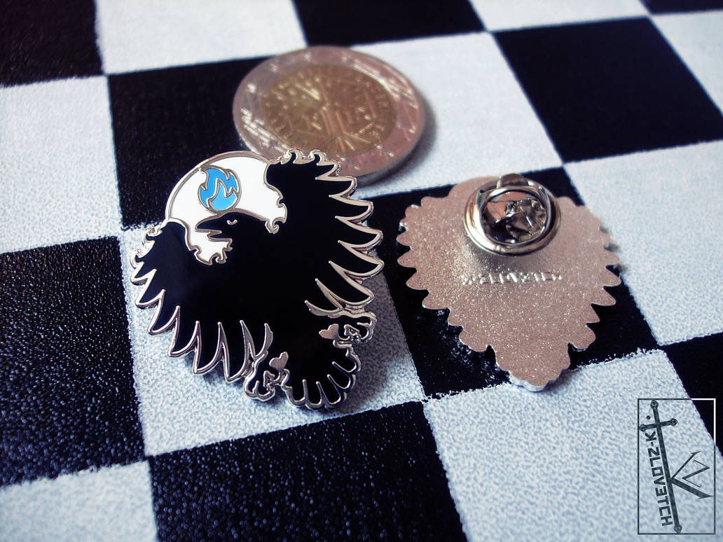 FOR SALE - Raven pins