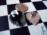 FOR SALE - Raven pins by K-Zlovetch
