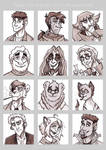 Draw your friends' OCs with your style by K-Zlovetch