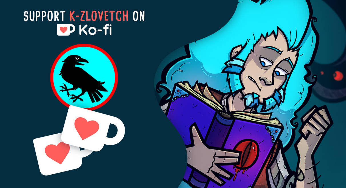 Support me on Ko-fi !