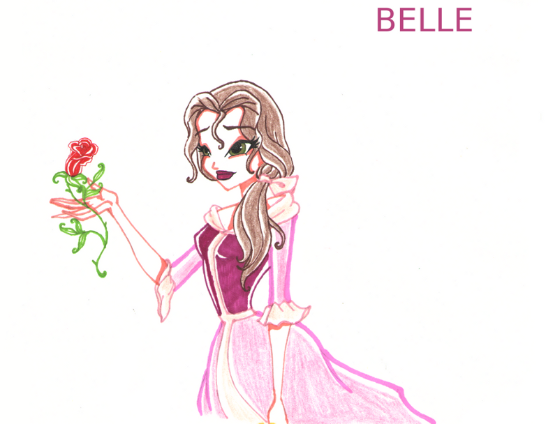 BELLE by DiamondDustIce