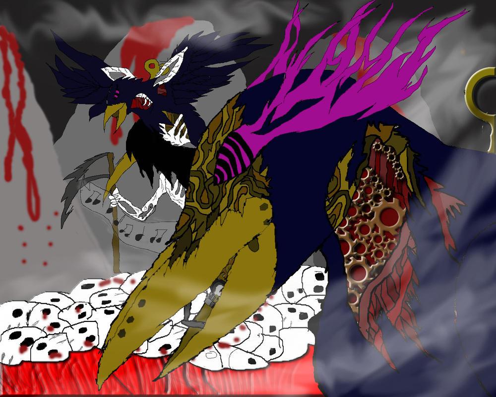 To-d3ed-raven by shizururocks