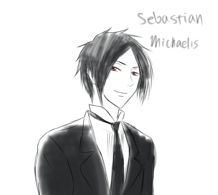 One Hell of a Butler: Sebastian Michaelis by PeachBerryDivision
