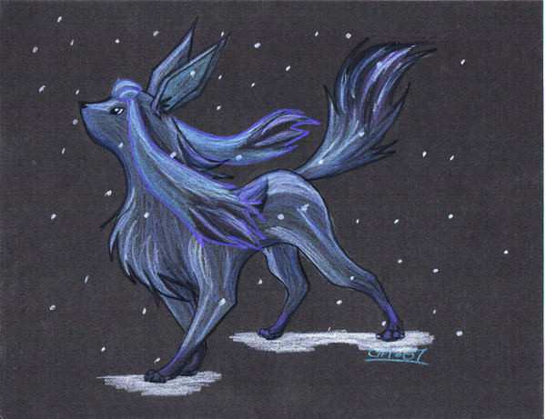 Registro de Avatares - Página 5 Glaceon__The_Ice_Fox_by_SUNgoddessOKAMI