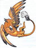 Gryphon by SUNgoddessOKAMI