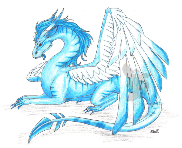 ice dragon drawings Gallery