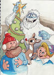 Rudolph and Gang Sketch