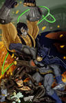 The Bat, The Cat, and the Lucha Libre