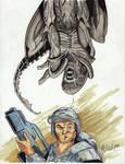 June 7 - Alien Xenomorph