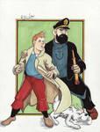 June 10 - Tin Tin and Captain Haddock