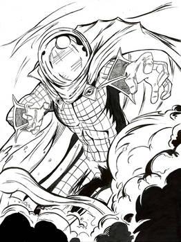 Mysterio Inks Sketch