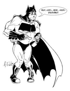January 16, 2013 - Batman Suiting Up