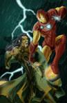 Iron Man Vs. The Mandarin
