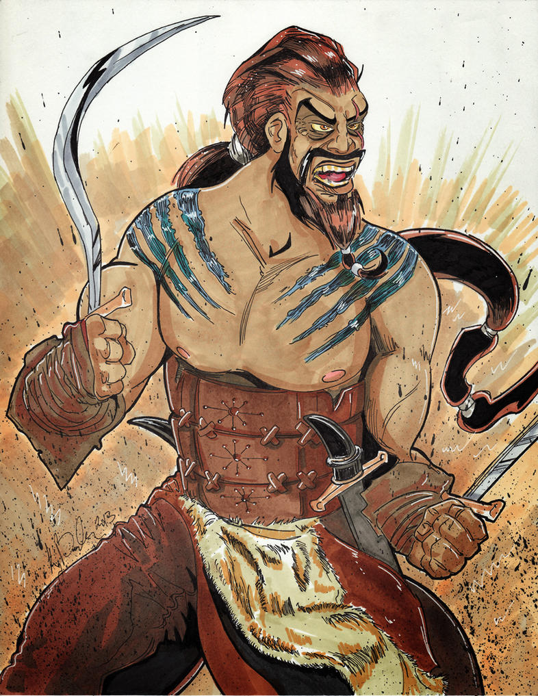 July 2 - Khal Drogo by KileyBeecher