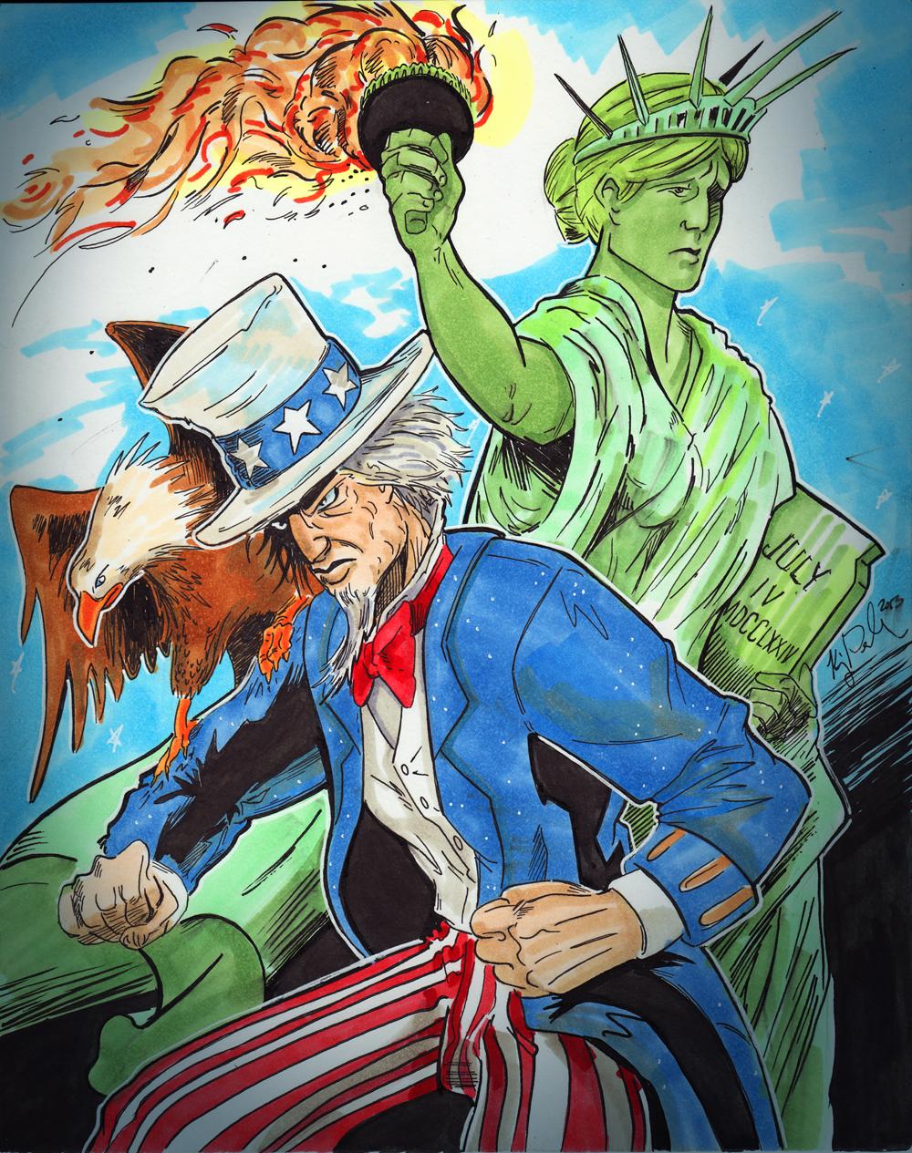 July 4 - America by KileyBeecher