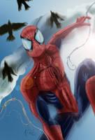 Spiders in Flight by KileyBeecher