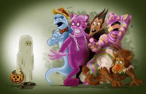2013 October Art Jam - Cereal Mascots by KileyBeecher