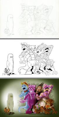 Cereal Mascots Process