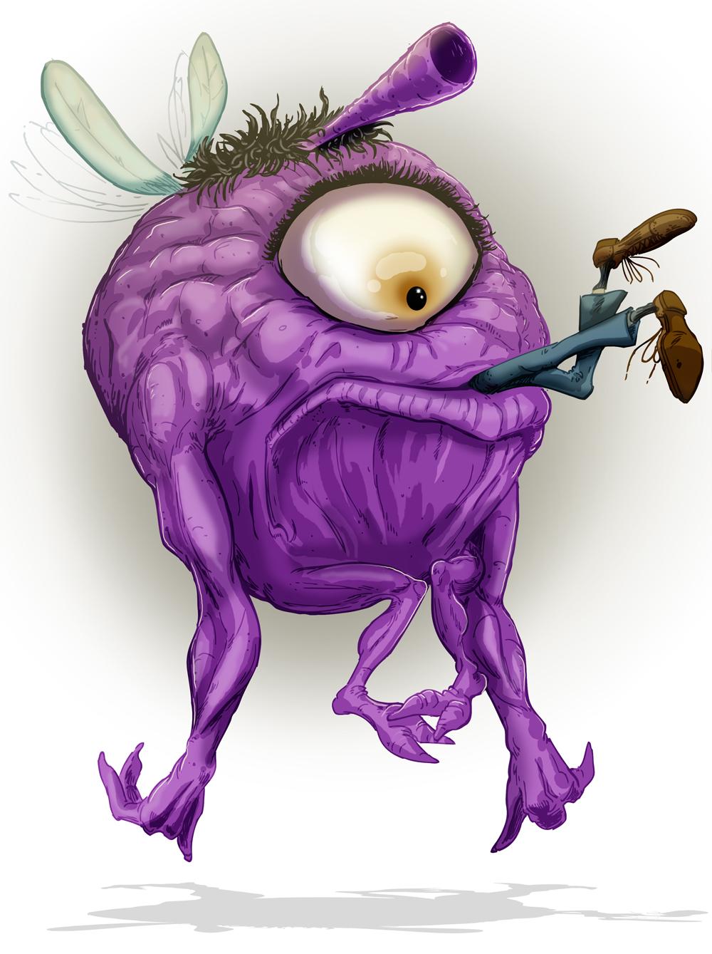 The Purple People Eater by KileyBeecher