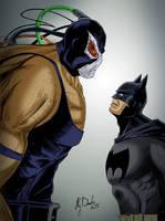 Bane and the Bat by KileyBeecher