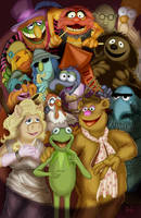 The Muppets by KileyBeecher