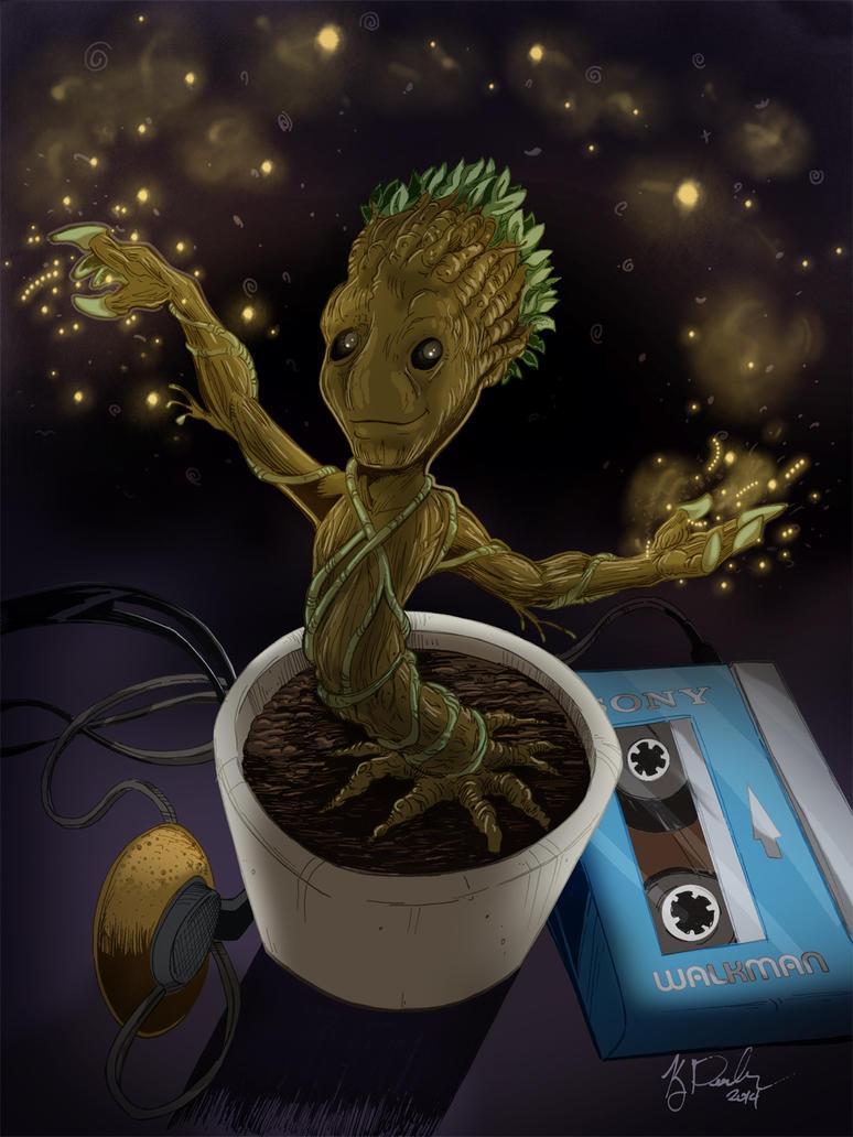 Baby Groot by KileyBeecher