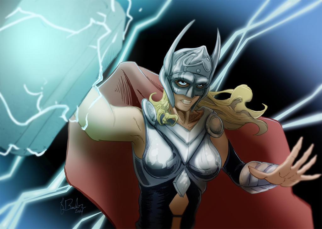Lady Thor by KileyBeecher
