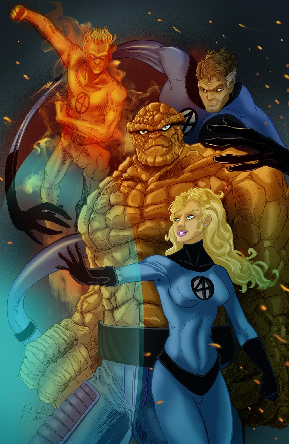 The Fantastic Four by KileyBeecher