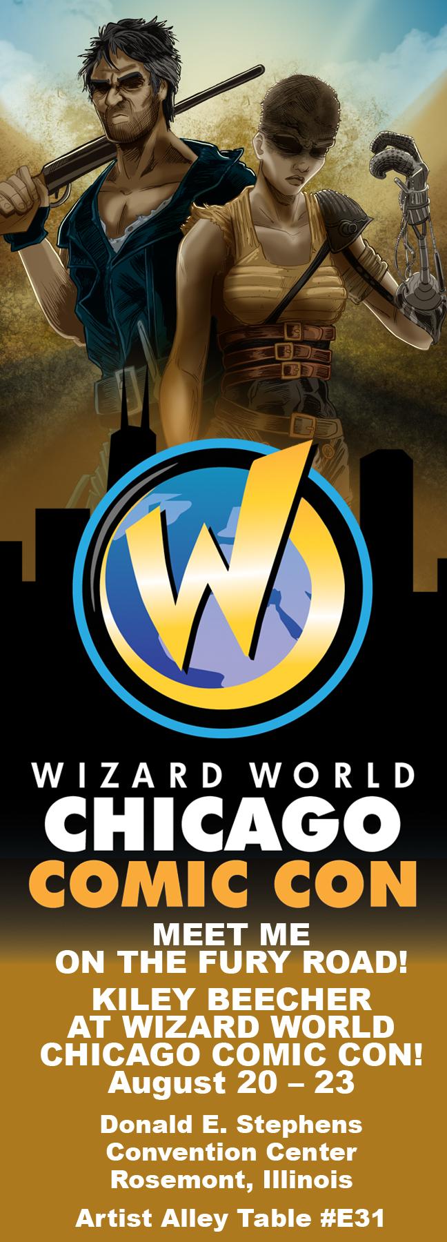 Wizard World Chicago 2015 Ad by KileyBeecher