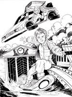 Inktober Day 21 - Back to the Future by KileyBeecher