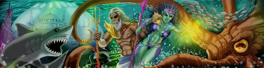 Razing Atlantis by KileyBeecher