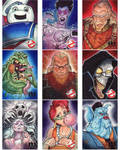 Cryptozoic GhostBusters Sketch Cards set 4