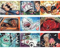 Cryptozoic GhostBusters Sketch Cards Set 2 by KileyBeecher