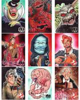 Cryptozoic GhostBusters Sketch Cards Set 5 by KileyBeecher