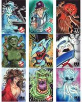 Cryptozoic GhostBusters Sketch Cards Set 3 by KileyBeecher