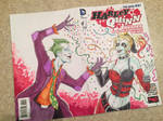 Harley Quinn Sketch Cover
