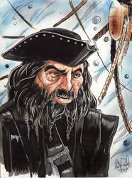 Edward Teach, Blackbeard by KileyBeecher