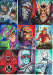 DC Villains Sketch Cards 05