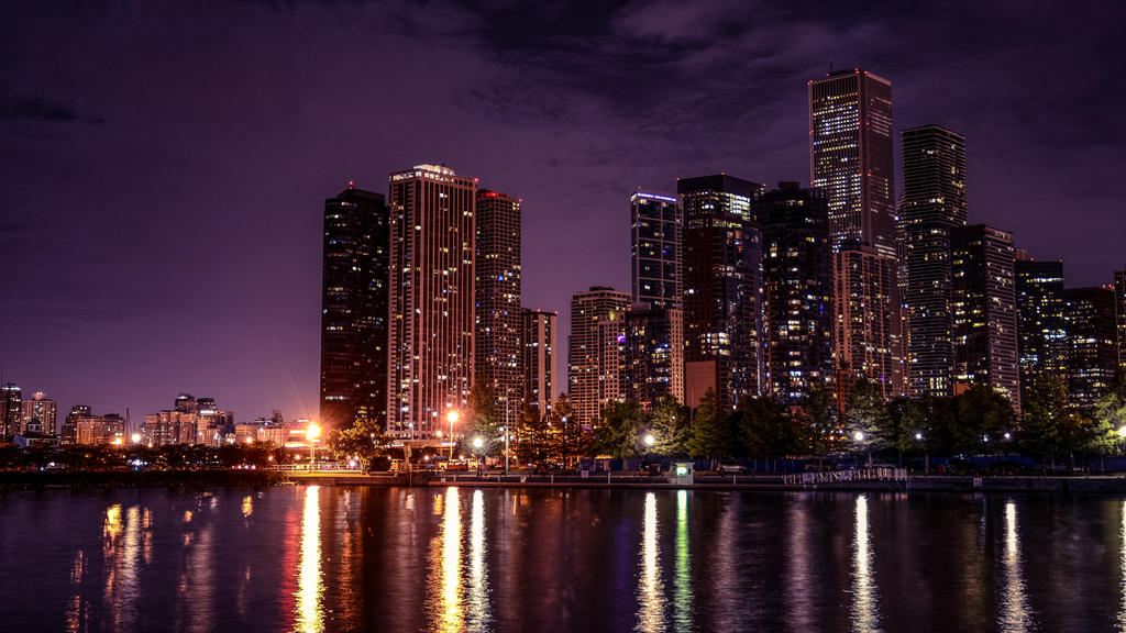 Chicago from Navy Pier by KenHau1