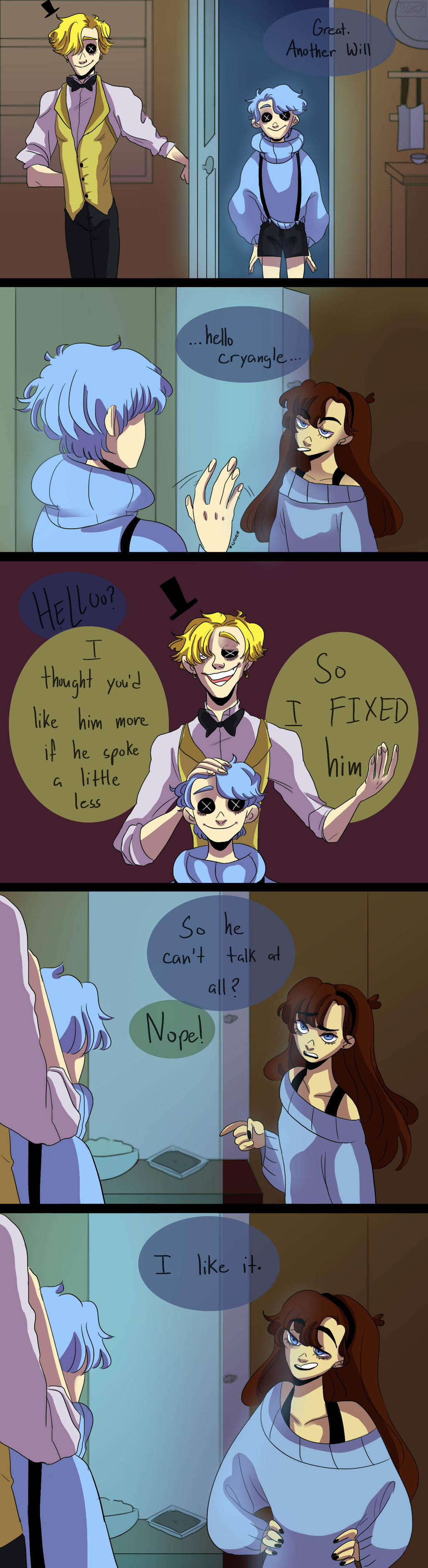 You Re Friend Coraline And Gf Crossover By Muramasa Nii On Deviantart