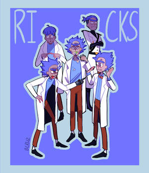 My Rick ocs