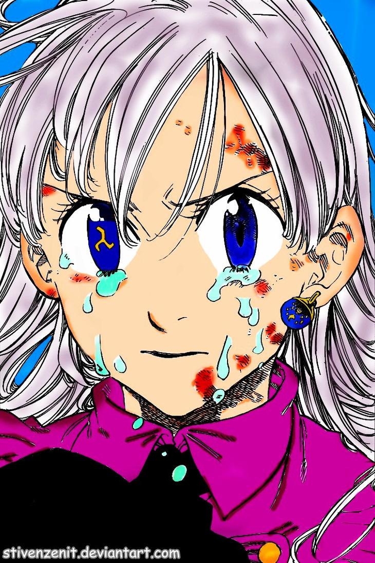 Nanatsu No Taizai Elizabeth Power - Elizabeth cry - Nanatsu no Taizai 96 by StivenZenit on ...