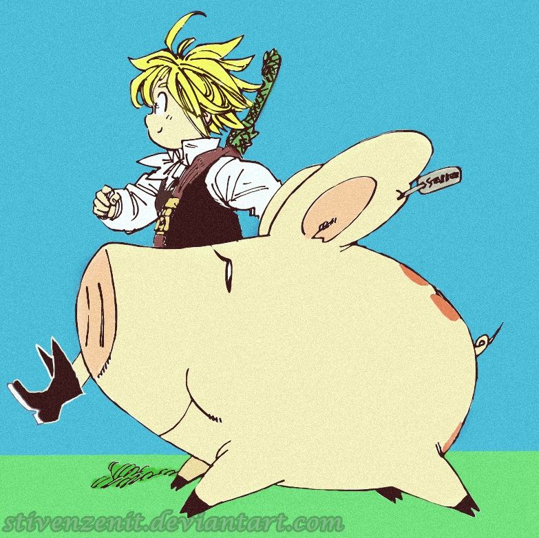 O início Meliodas_and_hawk___nanatsu_no_taizai_by_stivenzenit-d85ulp0